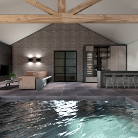 High-end Wellness ontwerp